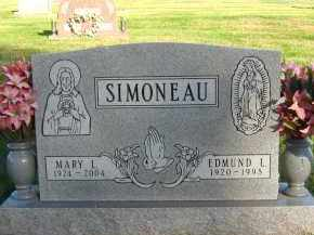SIMONEAU, MARY L - Douglas County, Nebraska | MARY L SIMONEAU - Nebraska Gravestone Photos