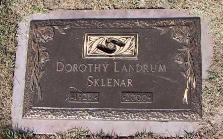 SKLENAR, DOROTHY - Douglas County, Nebraska | DOROTHY SKLENAR - Nebraska Gravestone Photos