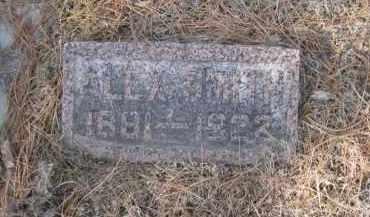 SMITH, ALEX - Douglas County, Nebraska | ALEX SMITH - Nebraska Gravestone Photos