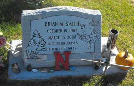 SMITH, BRIAN - Douglas County, Nebraska | BRIAN SMITH - Nebraska Gravestone Photos