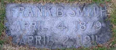SMITH, FRANK B. - Douglas County, Nebraska | FRANK B. SMITH - Nebraska Gravestone Photos