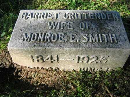CRITTENDEN SMITH, HARRIET - Douglas County, Nebraska | HARRIET CRITTENDEN SMITH - Nebraska Gravestone Photos