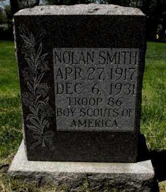 SMITH, NOLAN - Douglas County, Nebraska   NOLAN SMITH - Nebraska Gravestone Photos