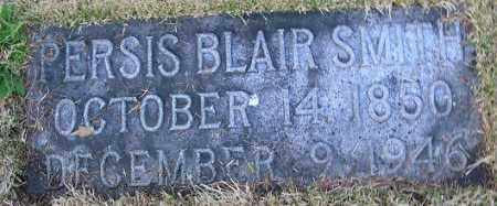 BLAIR SMITH, PERSIS - Douglas County, Nebraska | PERSIS BLAIR SMITH - Nebraska Gravestone Photos