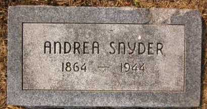 SNYDER, ANDREA - Douglas County, Nebraska   ANDREA SNYDER - Nebraska Gravestone Photos