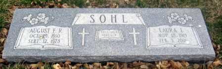 SOHL, AUGUST F. R. - Douglas County, Nebraska | AUGUST F. R. SOHL - Nebraska Gravestone Photos