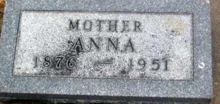 SOHL, ANNA - Douglas County, Nebraska   ANNA SOHL - Nebraska Gravestone Photos