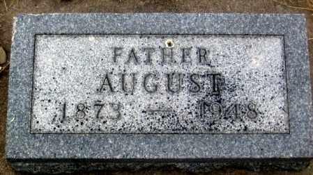 SOHL, AUGUST - Douglas County, Nebraska | AUGUST SOHL - Nebraska Gravestone Photos