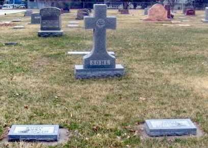 SOHL, FAMILY - Douglas County, Nebraska   FAMILY SOHL - Nebraska Gravestone Photos