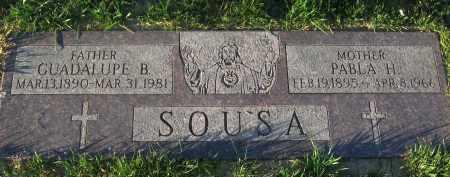 SOUSA, GUADALUPE B. - Douglas County, Nebraska | GUADALUPE B. SOUSA - Nebraska Gravestone Photos