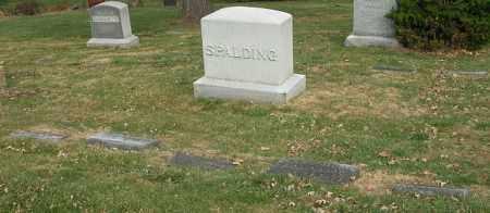 SPALDING, FAMILY - Douglas County, Nebraska   FAMILY SPALDING - Nebraska Gravestone Photos