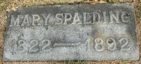 SPALDING, MARY - Douglas County, Nebraska | MARY SPALDING - Nebraska Gravestone Photos