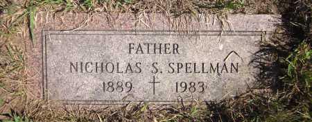 SPELLMAN, NICHOLAS S. - Douglas County, Nebraska | NICHOLAS S. SPELLMAN - Nebraska Gravestone Photos