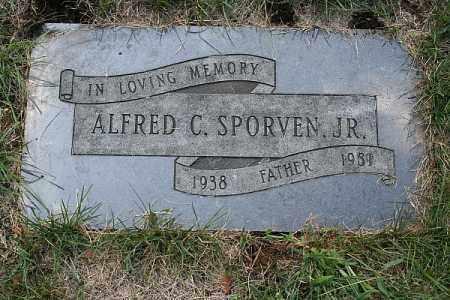 SPORVEN JR., ALFRED C. - Douglas County, Nebraska | ALFRED C. SPORVEN JR. - Nebraska Gravestone Photos