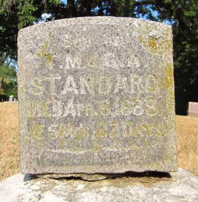 STANDARD, FRANKIE - Douglas County, Nebraska | FRANKIE STANDARD - Nebraska Gravestone Photos