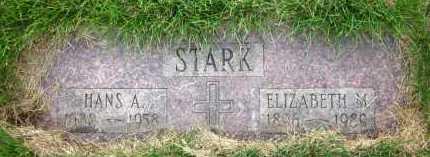 STARK, HANS A. - Douglas County, Nebraska   HANS A. STARK - Nebraska Gravestone Photos