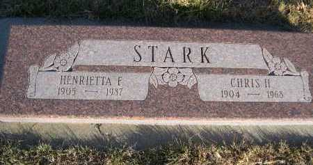 STARK, CHHIS H. - Douglas County, Nebraska | CHHIS H. STARK - Nebraska Gravestone Photos