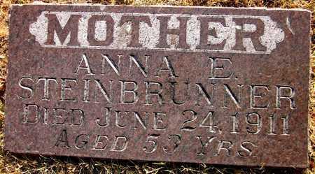 STEINBRUNNER, ANNA E. - Douglas County, Nebraska | ANNA E. STEINBRUNNER - Nebraska Gravestone Photos