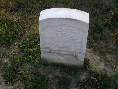 STEPHENS, WM. H. - Douglas County, Nebraska | WM. H. STEPHENS - Nebraska Gravestone Photos
