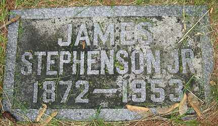 STEPHENSON, JAMES, JR. - Douglas County, Nebraska   JAMES, JR. STEPHENSON - Nebraska Gravestone Photos