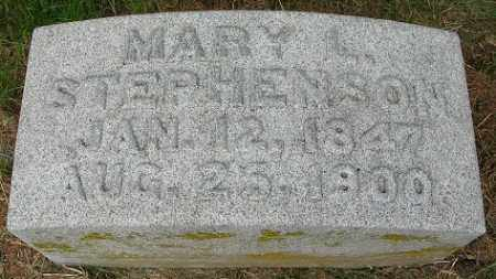 STEPHENSON, MARY L. - Douglas County, Nebraska | MARY L. STEPHENSON - Nebraska Gravestone Photos