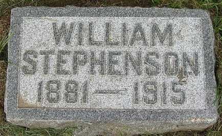 STEPHENSON, WILLIAM - Douglas County, Nebraska | WILLIAM STEPHENSON - Nebraska Gravestone Photos