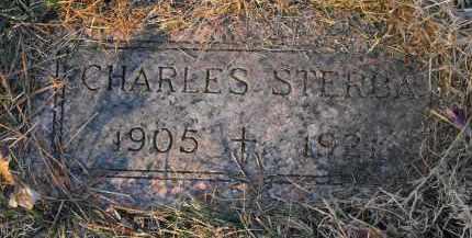 STERBA, CHARLES - Douglas County, Nebraska | CHARLES STERBA - Nebraska Gravestone Photos