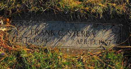 STERBA, FRANK G. - Douglas County, Nebraska | FRANK G. STERBA - Nebraska Gravestone Photos