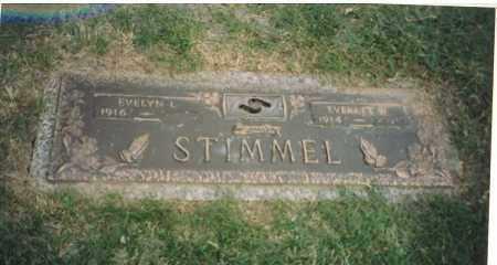 STIMMEL, EVERETT W. - Douglas County, Nebraska | EVERETT W. STIMMEL - Nebraska Gravestone Photos