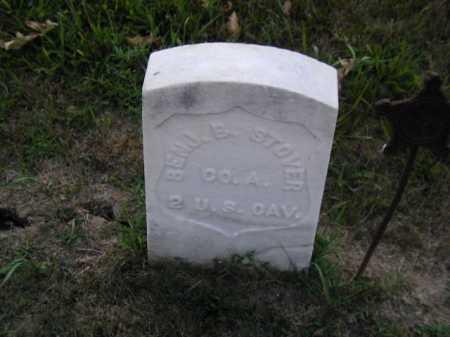 STOVER, BENJ. E. - Douglas County, Nebraska | BENJ. E. STOVER - Nebraska Gravestone Photos