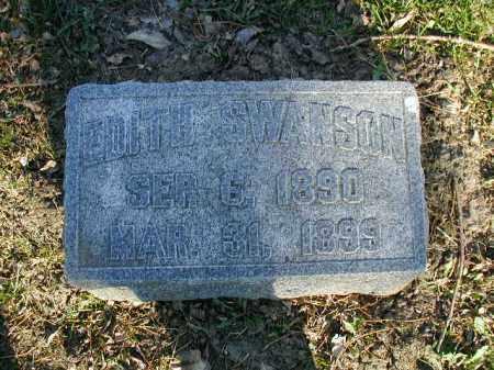 SWANSON, EDITH - Douglas County, Nebraska   EDITH SWANSON - Nebraska Gravestone Photos