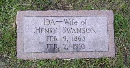 SWANSON, IDA - Douglas County, Nebraska | IDA SWANSON - Nebraska Gravestone Photos