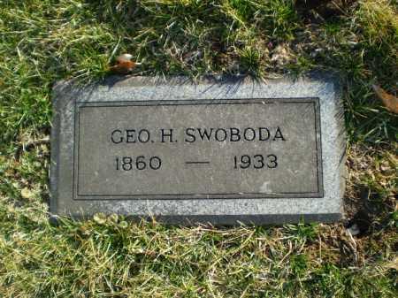SWOBODA, GEORGE H. - Douglas County, Nebraska | GEORGE H. SWOBODA - Nebraska Gravestone Photos