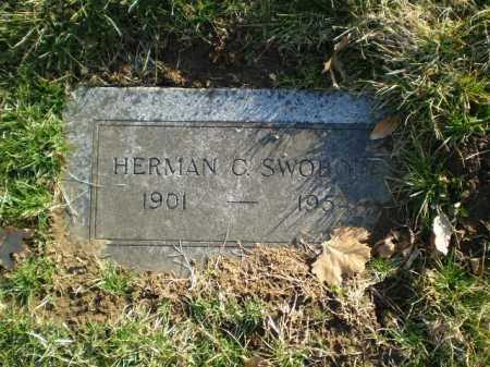 SWOBODA, HERMAN C. - Douglas County, Nebraska | HERMAN C. SWOBODA - Nebraska Gravestone Photos