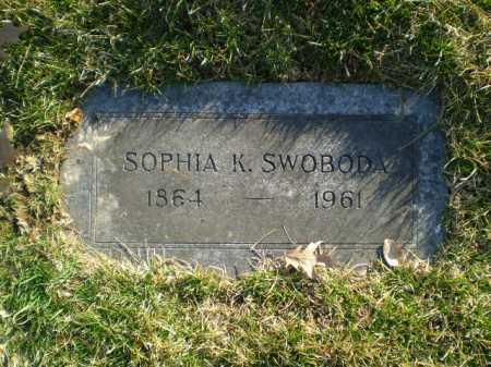SWOBODA, SOPHIA K. - Douglas County, Nebraska | SOPHIA K. SWOBODA - Nebraska Gravestone Photos