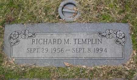 TEMPLIN, RICHARD M. - Douglas County, Nebraska | RICHARD M. TEMPLIN - Nebraska Gravestone Photos