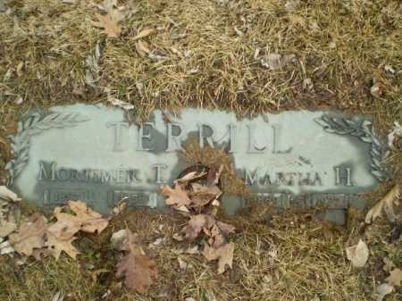 TERRILL, MORTIMER T - Douglas County, Nebraska | MORTIMER T TERRILL - Nebraska Gravestone Photos