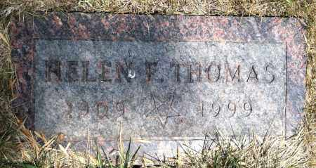 FLETCHER THOMAS, HELEN - Douglas County, Nebraska | HELEN FLETCHER THOMAS - Nebraska Gravestone Photos