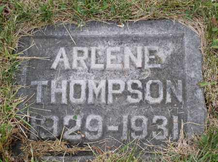 THOMPSON, ARLENE - Douglas County, Nebraska | ARLENE THOMPSON - Nebraska Gravestone Photos