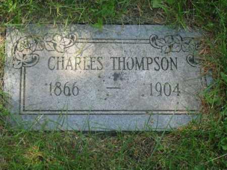 THOMPSON, CHARLES - Douglas County, Nebraska | CHARLES THOMPSON - Nebraska Gravestone Photos