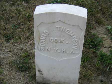 THOMPSON, DAVID - Douglas County, Nebraska | DAVID THOMPSON - Nebraska Gravestone Photos
