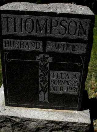 THOMPSON, ELLA A. - Douglas County, Nebraska | ELLA A. THOMPSON - Nebraska Gravestone Photos