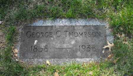 THOMPSON, GEORGE C. - Douglas County, Nebraska | GEORGE C. THOMPSON - Nebraska Gravestone Photos