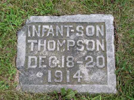 THOMPSON, INFANT SON - Douglas County, Nebraska   INFANT SON THOMPSON - Nebraska Gravestone Photos