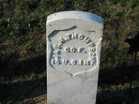 THOMPSON, JAMES H - Douglas County, Nebraska | JAMES H THOMPSON - Nebraska Gravestone Photos