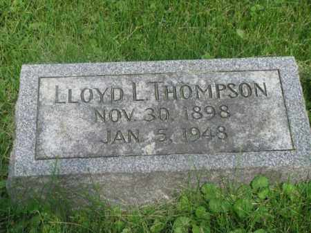 THOMPSON, LLOYD L. - Douglas County, Nebraska | LLOYD L. THOMPSON - Nebraska Gravestone Photos