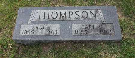 THOMPSON, EARL G. - Douglas County, Nebraska | EARL G. THOMPSON - Nebraska Gravestone Photos