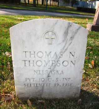 THOMPSON, THOMAS N. - Douglas County, Nebraska | THOMAS N. THOMPSON - Nebraska Gravestone Photos