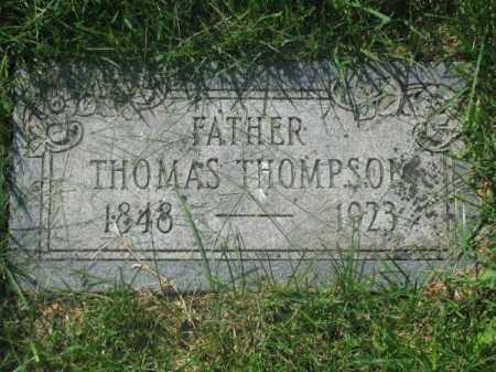 THOMPSON, THOMAS - Douglas County, Nebraska | THOMAS THOMPSON - Nebraska Gravestone Photos