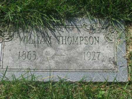 THOMPSON, WILLIAM - Douglas County, Nebraska | WILLIAM THOMPSON - Nebraska Gravestone Photos